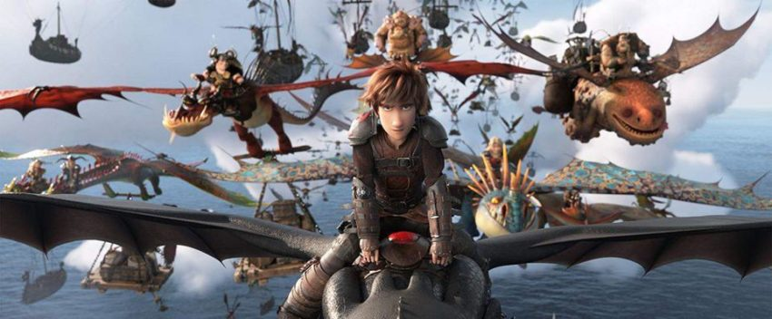 Action Hybrid Movies - How to train your dragon