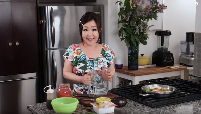10 Best USA Food Youtubers- And Their Popular Channels; Emily Kim- Maangchi-5.42 Million Subscribers