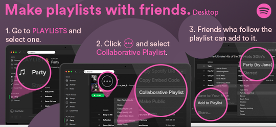 Hidden Spotify Features; Make Collaborative Playlists With Your Friends and Family