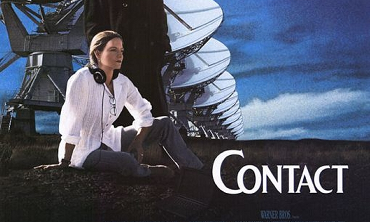 Most Realistic Space Movies - contact