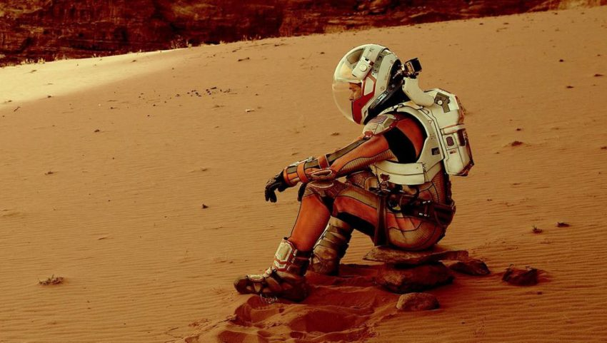 Most Realistic Space Movies - the martian