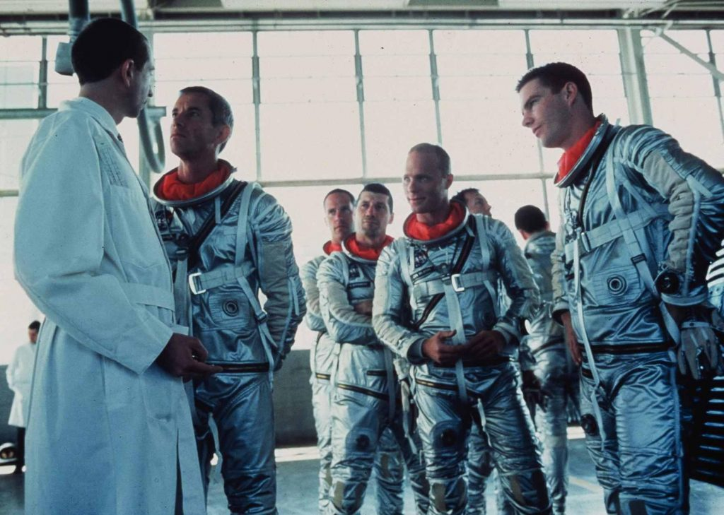 Most Realistic Space Movies - the-right-stuff