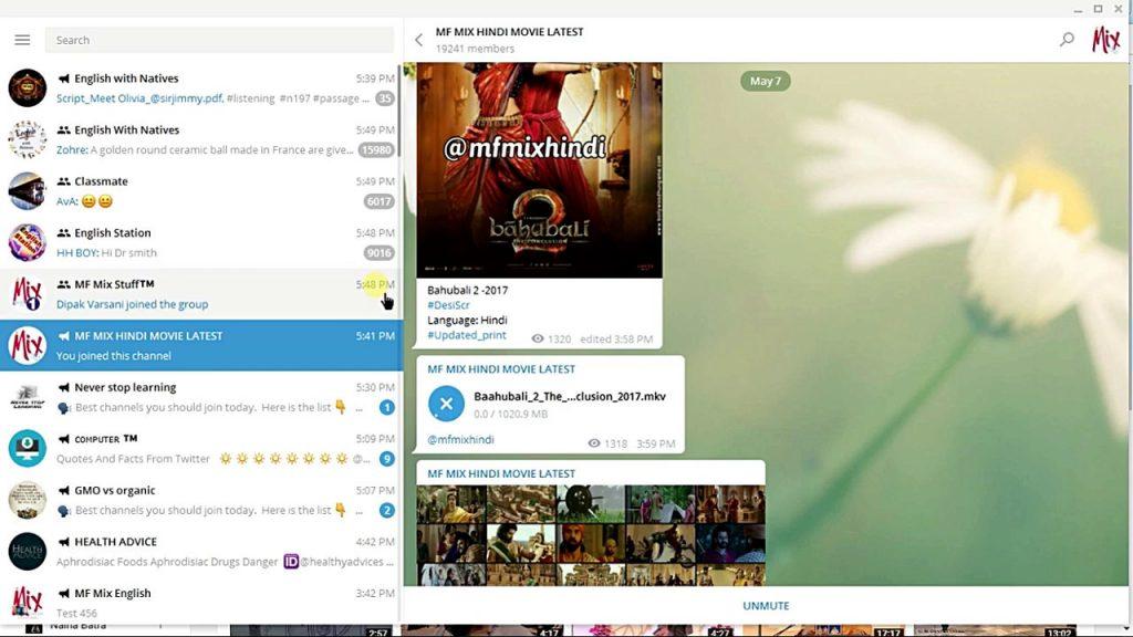 Movie channel on Telegram - m0vies on Telegram