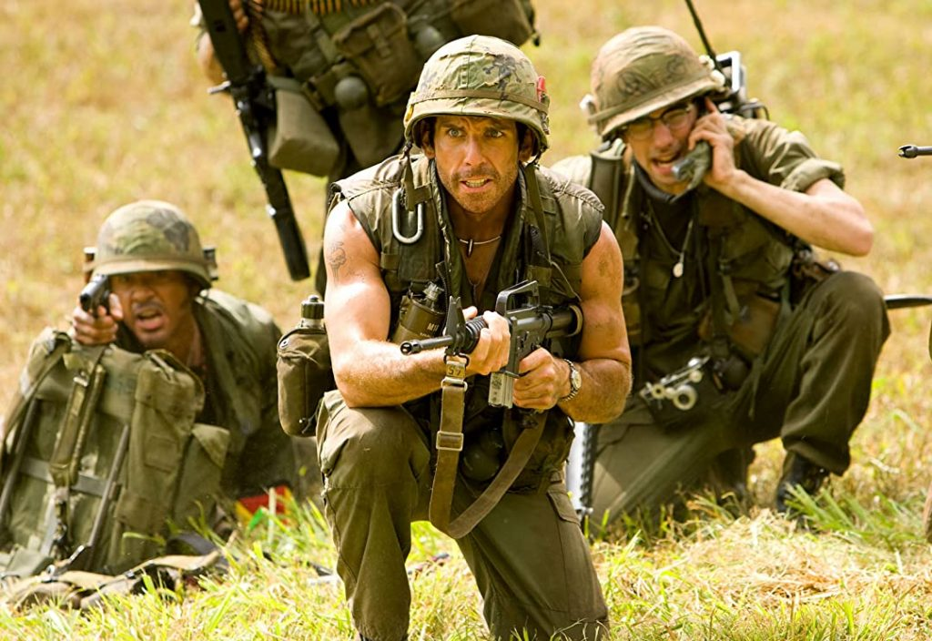 Best Parody Movies Of All Time; Tropic Thunder