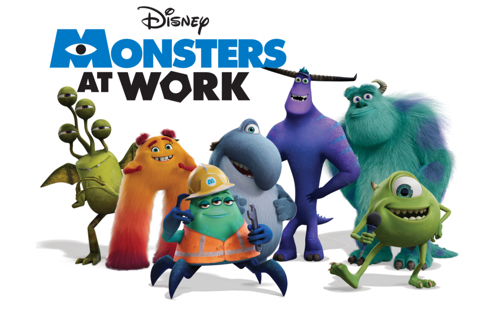 Upcoming TV Shows On Disney Plus - Monsters at work