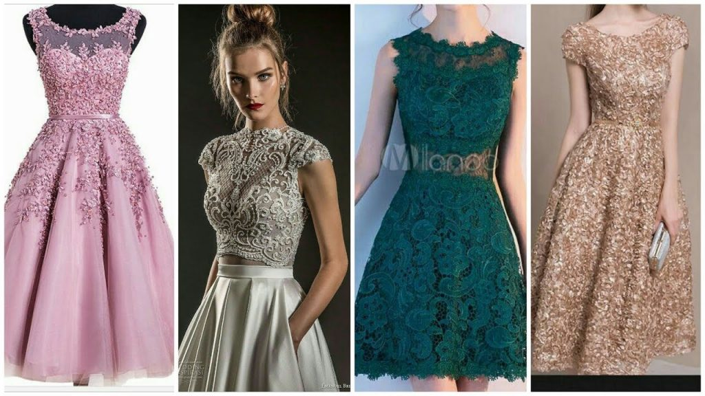 What To Wear On Wedding - tea length Frock