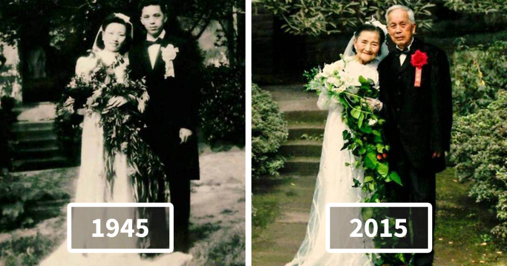 anniversary party ideas- recreate old photograph
