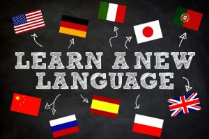 Learn a new language; what to do when you are bored at home