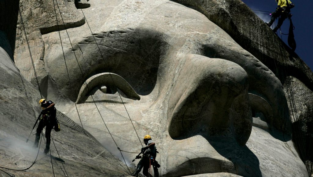 Facts About Mount Rushmore; An Extra Long Nose