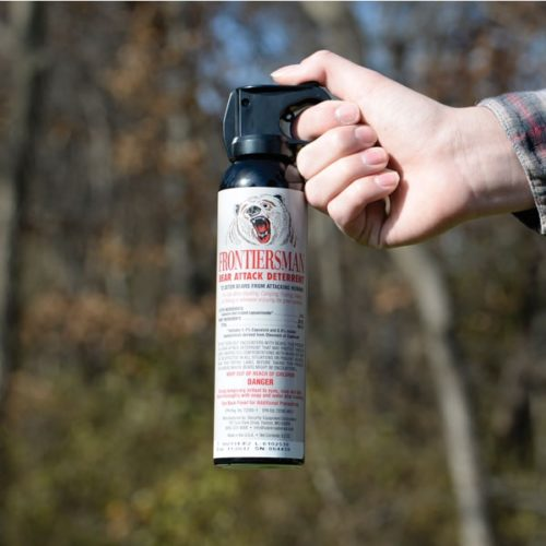 Best Gifts for Outdoorsy Women; Bear Spray