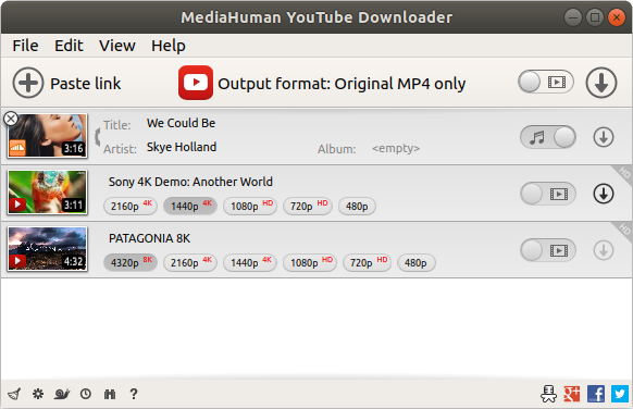 Best YouTube To MP3 Converters - Media Human