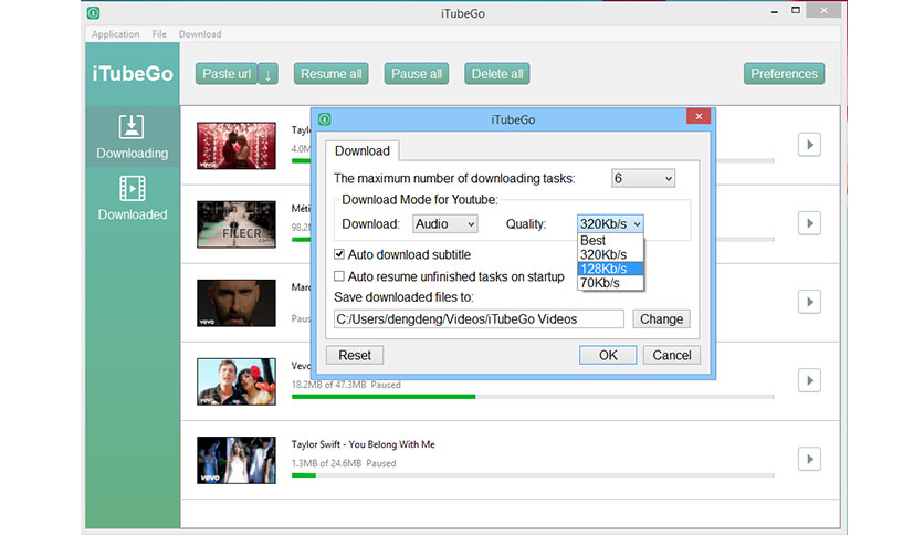 Best YouTube To MP3 Converters - iTubeGo