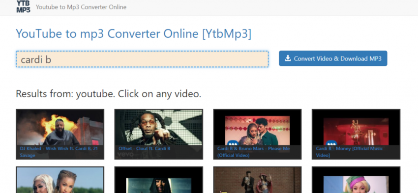 Best YouTube To MP3 Converters - ytbmp3