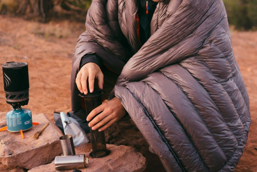 Best Gifts for Outdoorsy Women; Camping Blanket