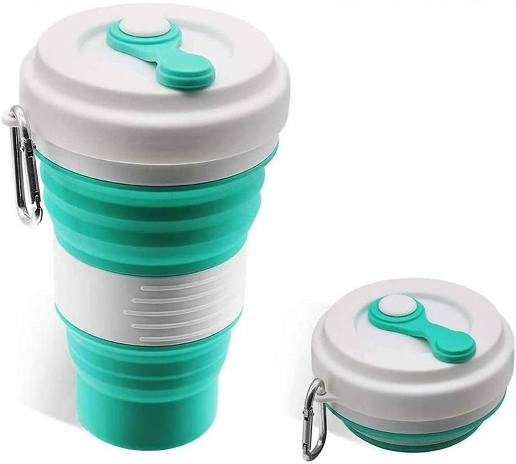 Best Gifts for Outdoorsy Women; Collapsible Coffe Mug