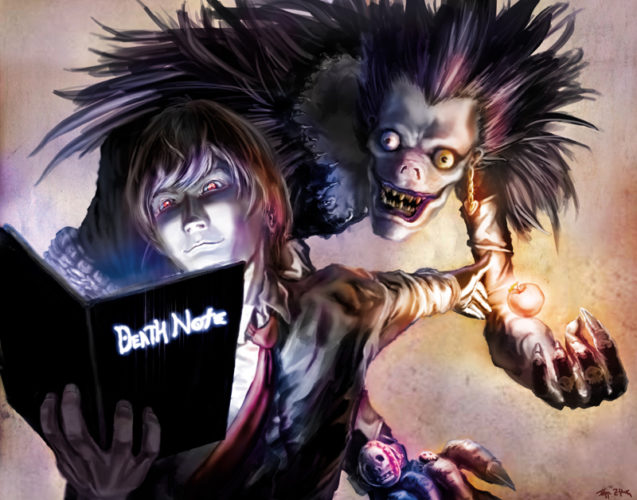 Reasons to Watch Death Note; Dark Comedy with Horror
