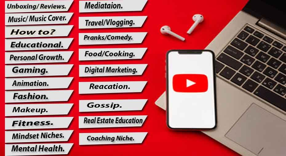 Become a Successful YouTuber; Deciding a Niche is the First Step
