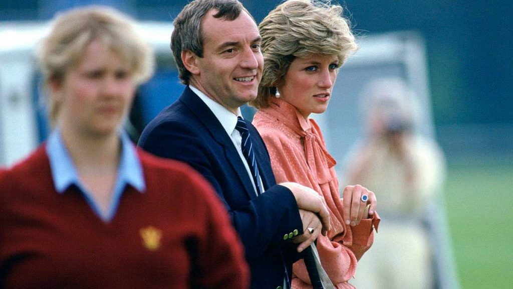 Diana was very close to her Bodyguard