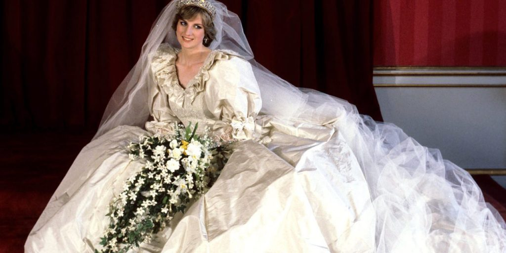 Diana's Wedding Dress is Estimated to Cost