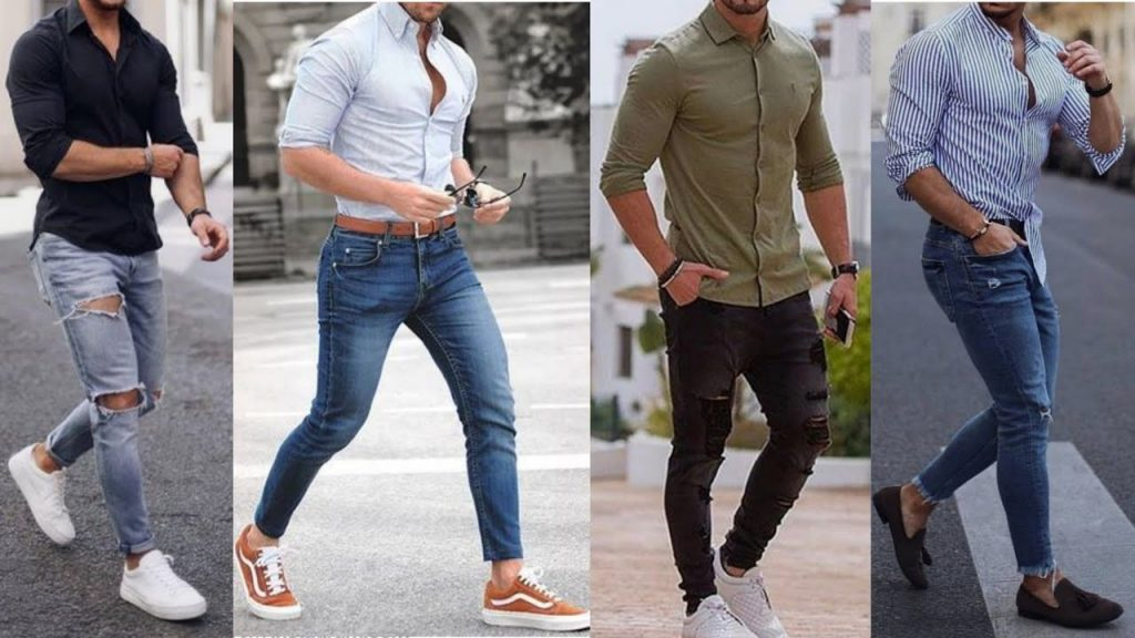 Different Styles To Wear A Shirt - Shirt and Jeans