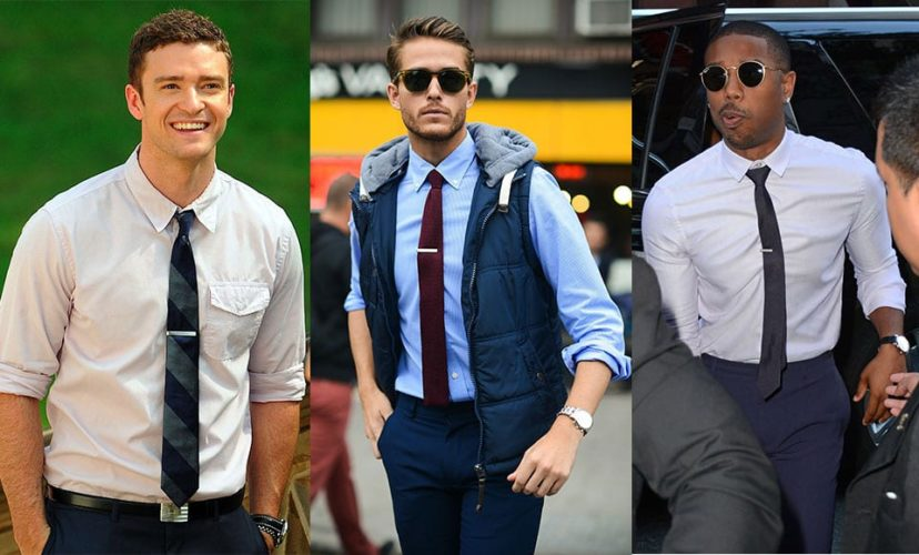 Different Styles To Wear A Shirt - Tucked in Shirt with Tie