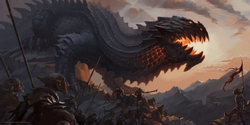 Watch The Lord Of The Rings; Dragon