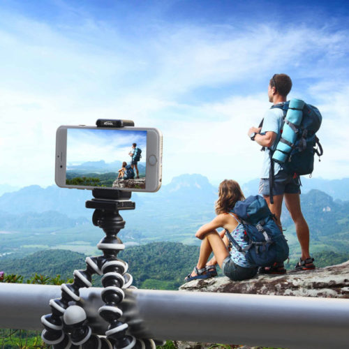 Best Gifts for Outdoorsy Women; Flexible Phone Tripod