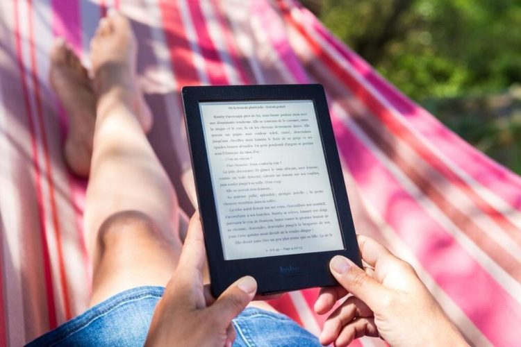 Best Gifts for Outdoorsy Women; Kindle
