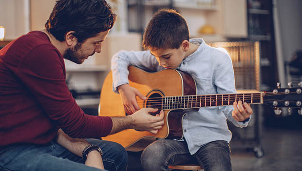 Fun Hobbies At Home ; Learning Music