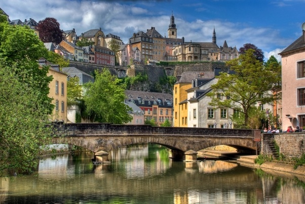 Richest Countries In The World; Luxembourg