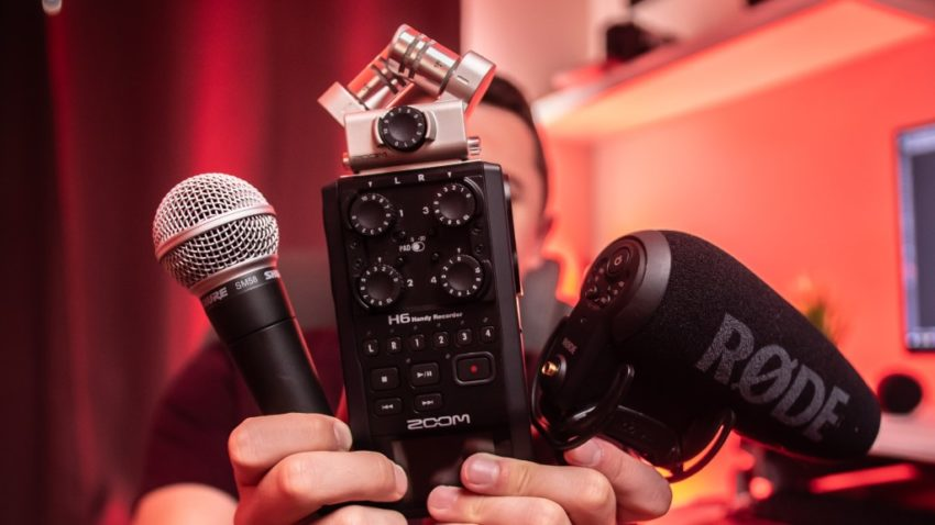 Vlogging Using Your Android Phone; Microphone for Better Sound Quality