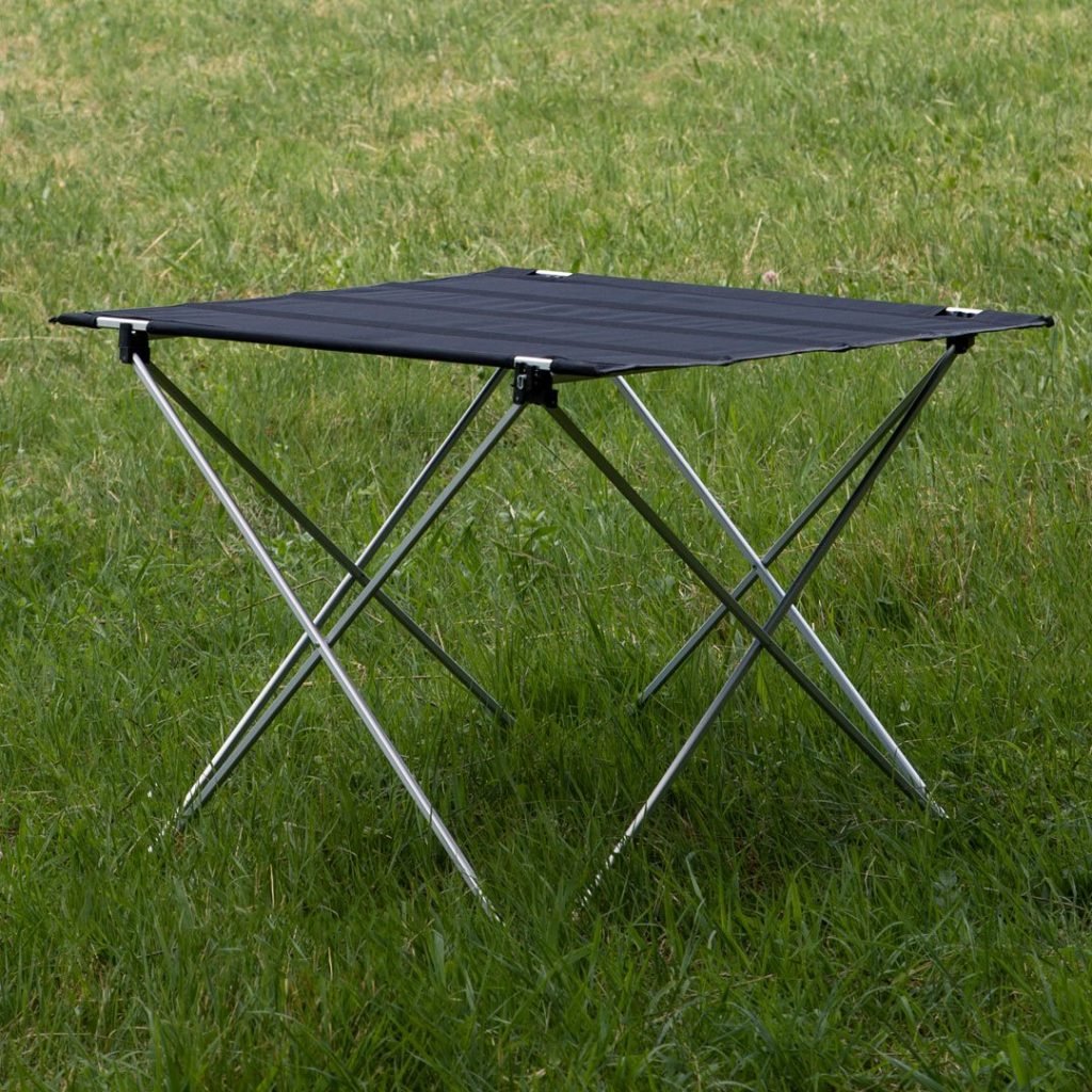 Best Gifts for Outdoorsy Women; Portable Camping Table