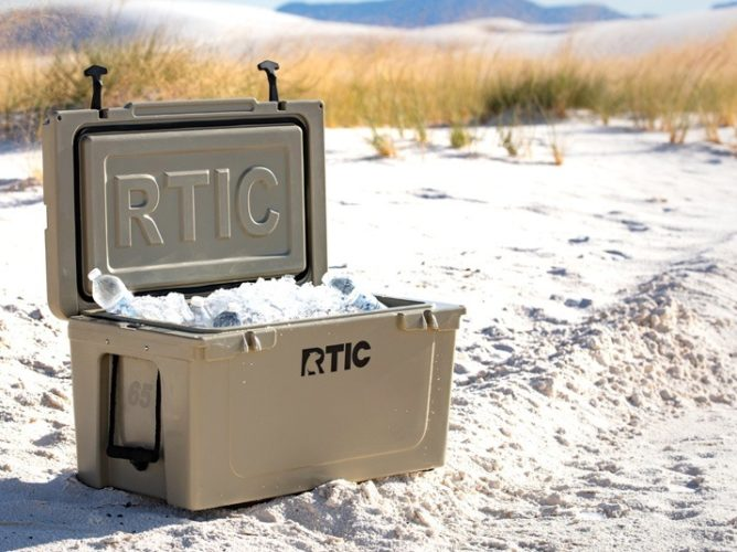 Best Gifts for Outdoorsy Women; RTIC Cooler