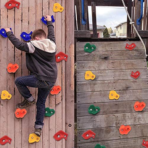 Backyard Toys For Kids; Rock Climbing Holds for DIY Rock Wall