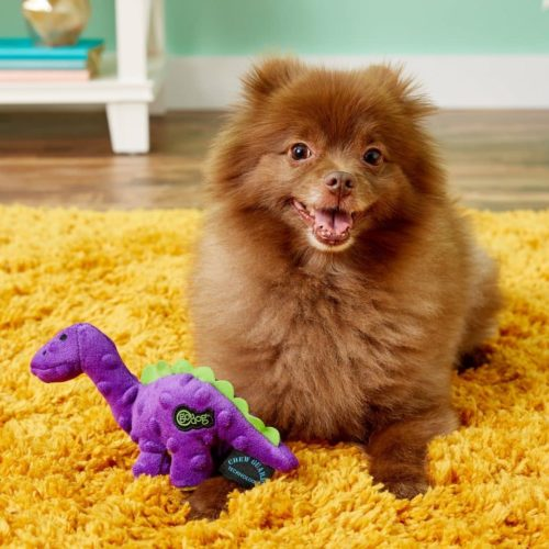 Soft Chew Toys For Dogs; Teething Dinosaur