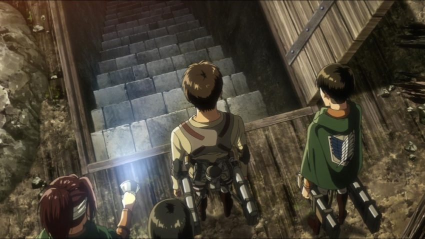 Reasons to Watch Attack On Titan; The Basement Suspense
