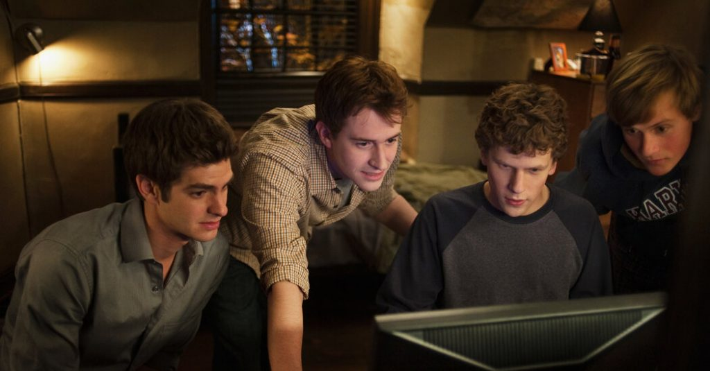 Best Movies For Coders ; The Social Network