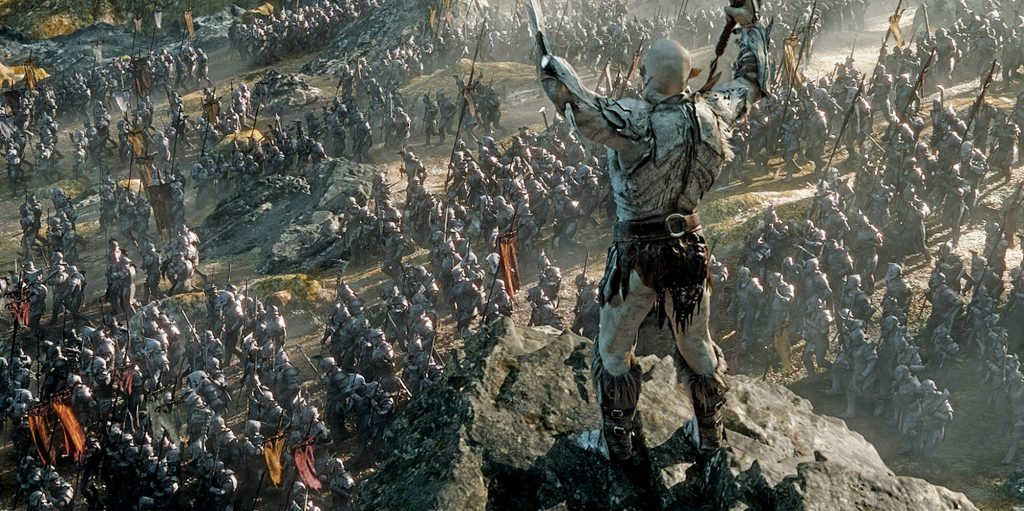Watch The Lord Of The Rings; The War to take the treasure of Lonely Mountain Begins