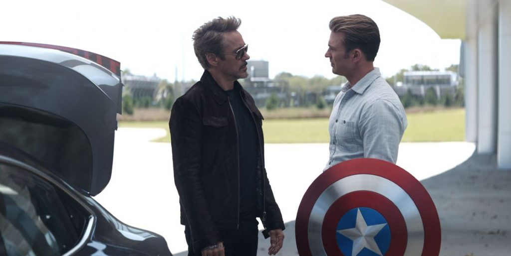 Things To Learn From Tony Stark - Captain got his shield back