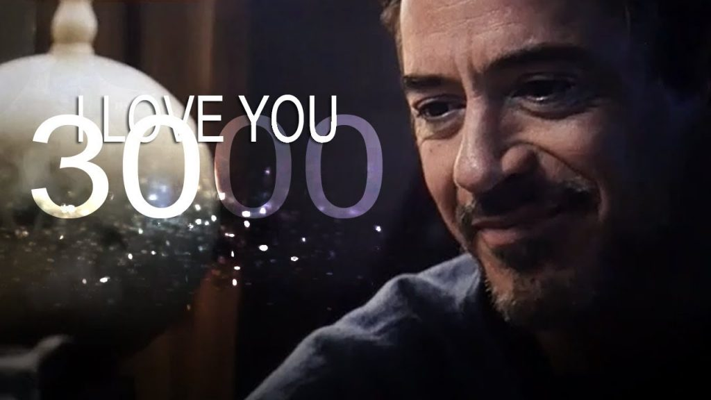 Things To Learn From Tony Stark - I love you 3000