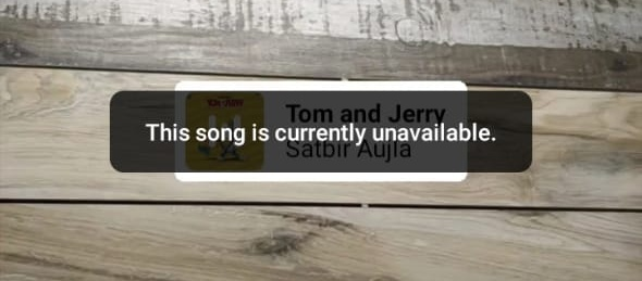 Why Instagram Music Is Not Available In My Account - Song Not Found