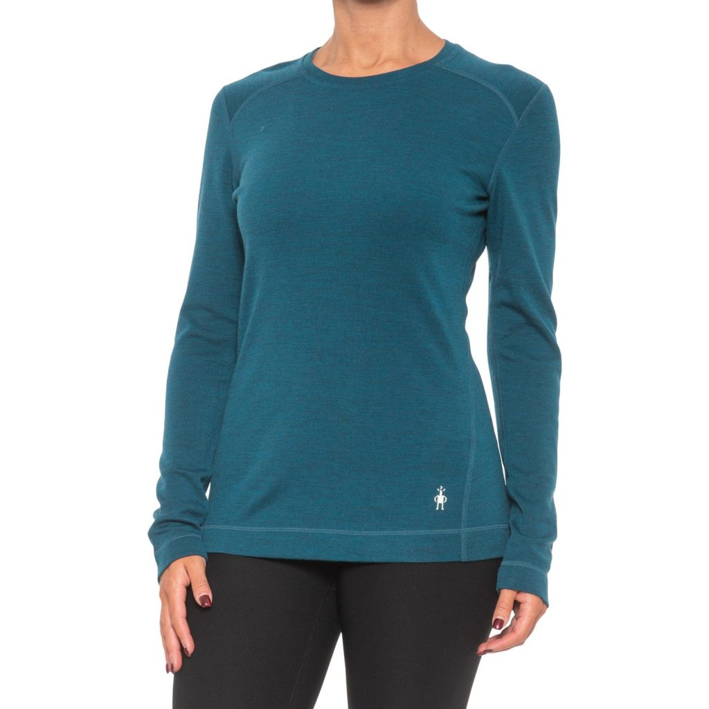 Best Gifts for Outdoorsy Women; Wool Thermal Shirt
