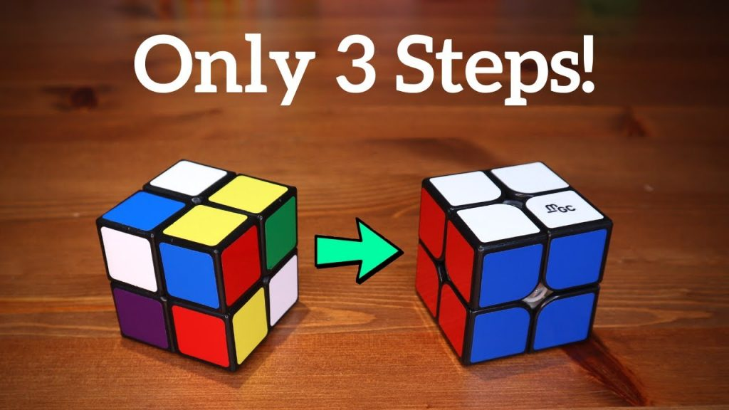 Solve a 2x2 Rubik's Cube; 3 Simple Steps to Solve a 2x2 Rubik's Cube With Ease