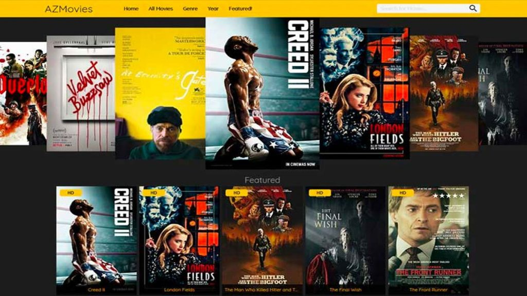 Sites To Watch Free HD Movies; AZMovies