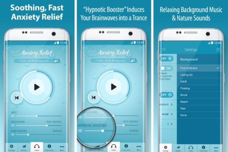 Apps To Deal With Anxiety; Anxiety Relief Hypnosis