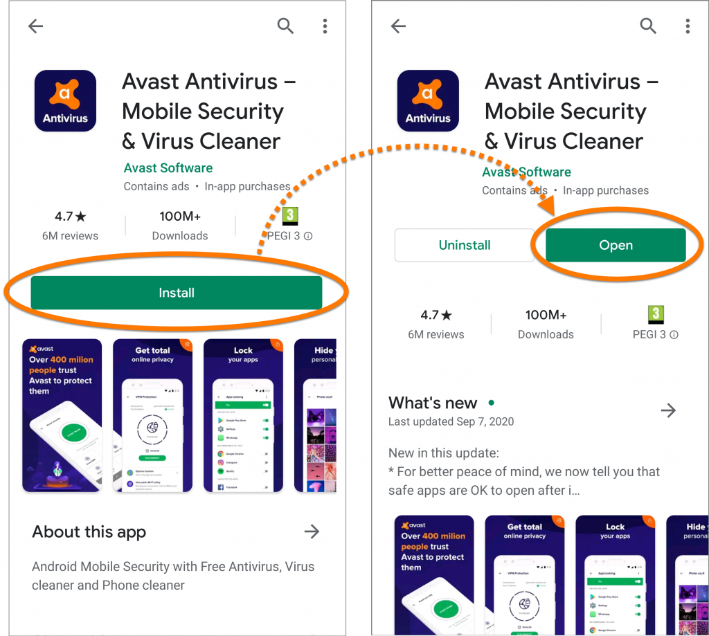 Avast Cleanup Review; Avast Cleanup Playstore Ratings