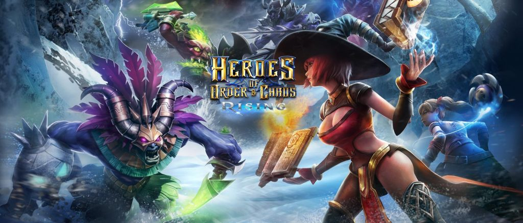 Best MOBA Games For iOS - Heroes Of Order And Chaos
