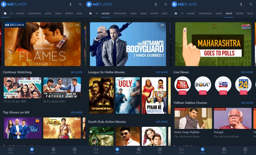 Best Streaming Sites of 2021 - MX Player