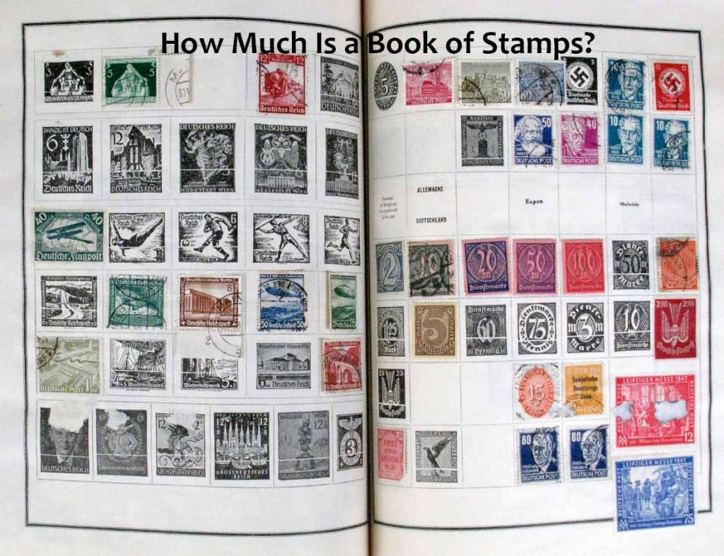 Book of Stamps; How much does a Book of Stamps Cost?