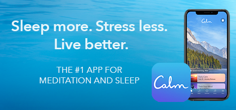 Apps To Deal With Anxiety; Calm